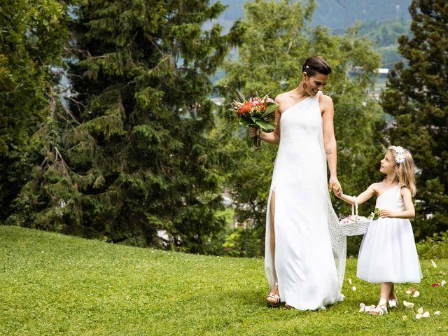 Il matrimonio di Riccardo e Francesca a Strigno, Trento 36