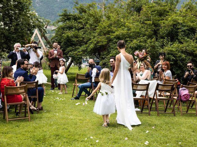 Il matrimonio di Riccardo e Francesca a Strigno, Trento 37