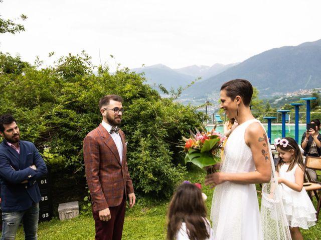 Il matrimonio di Riccardo e Francesca a Strigno, Trento 38