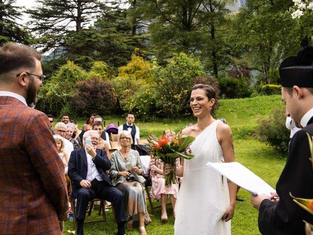 Il matrimonio di Riccardo e Francesca a Strigno, Trento 41