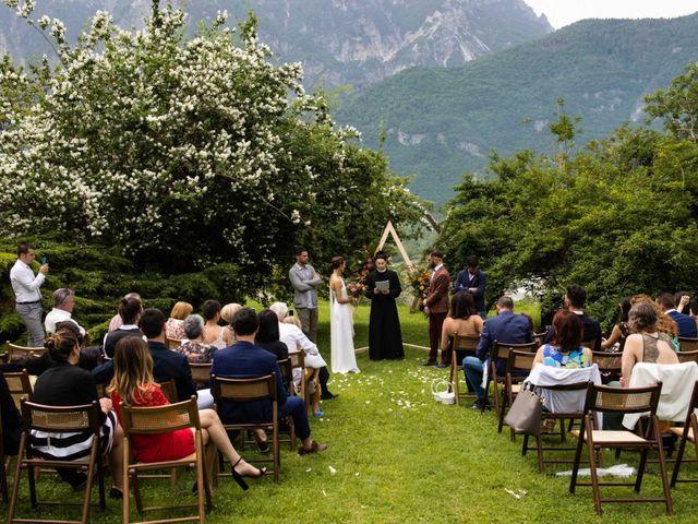 Il matrimonio di Riccardo e Francesca a Strigno, Trento 42
