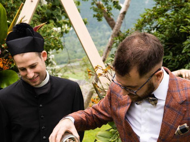 Il matrimonio di Riccardo e Francesca a Strigno, Trento 45