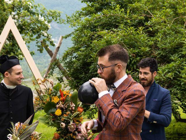 Il matrimonio di Riccardo e Francesca a Strigno, Trento 52