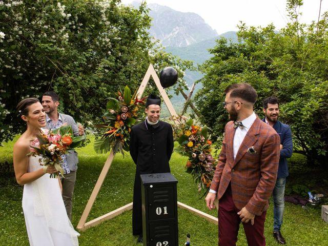 Il matrimonio di Riccardo e Francesca a Strigno, Trento 54