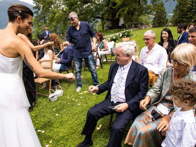 Il matrimonio di Riccardo e Francesca a Strigno, Trento 56