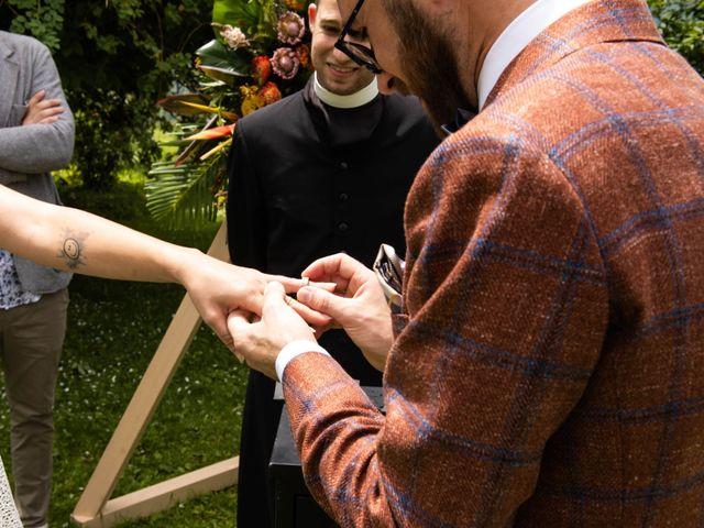 Il matrimonio di Riccardo e Francesca a Strigno, Trento 59