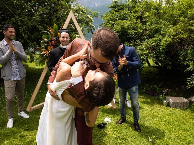 Il matrimonio di Riccardo e Francesca a Strigno, Trento 61