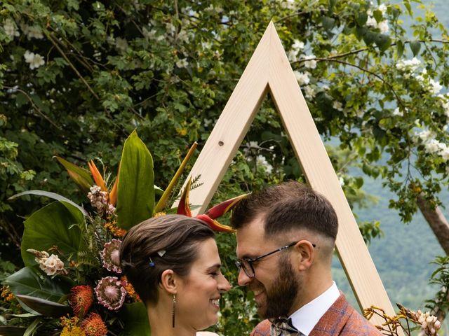 Il matrimonio di Riccardo e Francesca a Strigno, Trento 1