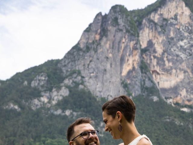 Il matrimonio di Riccardo e Francesca a Strigno, Trento 70