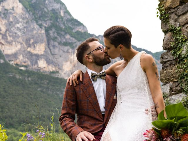 Il matrimonio di Riccardo e Francesca a Strigno, Trento 71