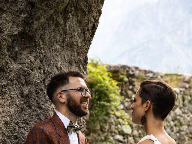 Il matrimonio di Riccardo e Francesca a Strigno, Trento 73