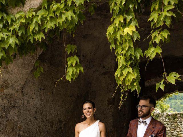 Il matrimonio di Riccardo e Francesca a Strigno, Trento 74