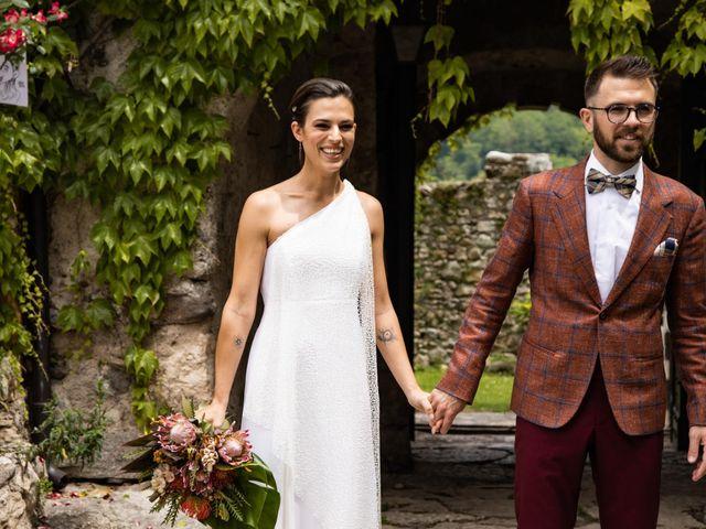 Il matrimonio di Riccardo e Francesca a Strigno, Trento 75