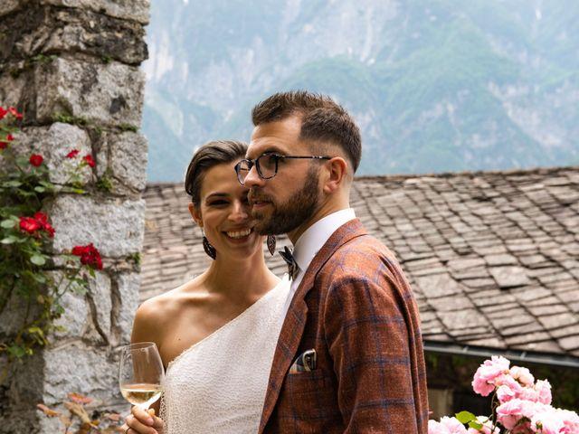 Il matrimonio di Riccardo e Francesca a Strigno, Trento 78