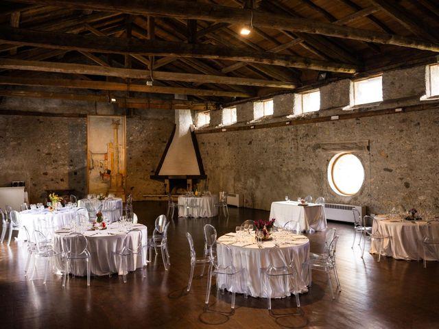 Il matrimonio di Riccardo e Francesca a Strigno, Trento 80