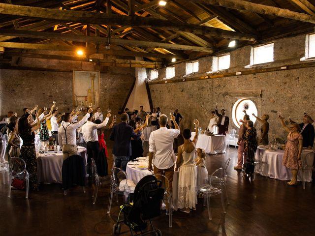 Il matrimonio di Riccardo e Francesca a Strigno, Trento 86