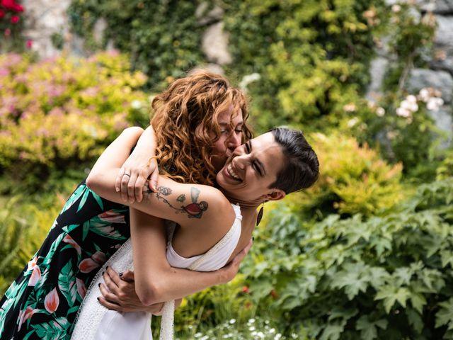 Il matrimonio di Riccardo e Francesca a Strigno, Trento 90
