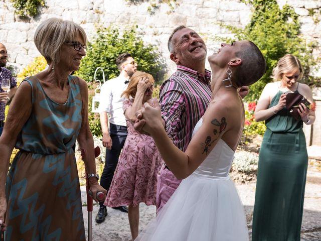 Il matrimonio di Riccardo e Francesca a Strigno, Trento 112