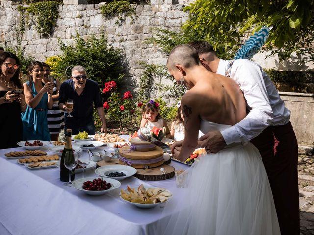 Il matrimonio di Riccardo e Francesca a Strigno, Trento 115