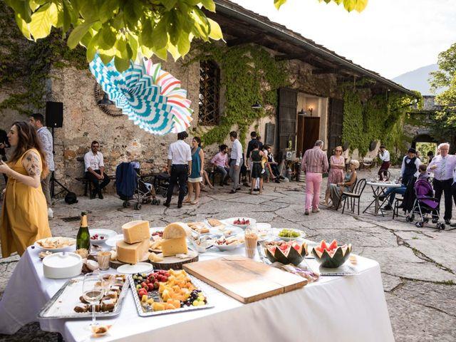Il matrimonio di Riccardo e Francesca a Strigno, Trento 118