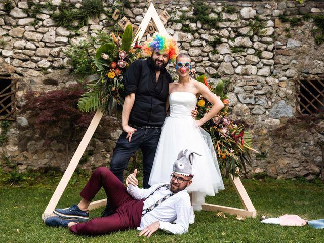 Il matrimonio di Riccardo e Francesca a Strigno, Trento 123
