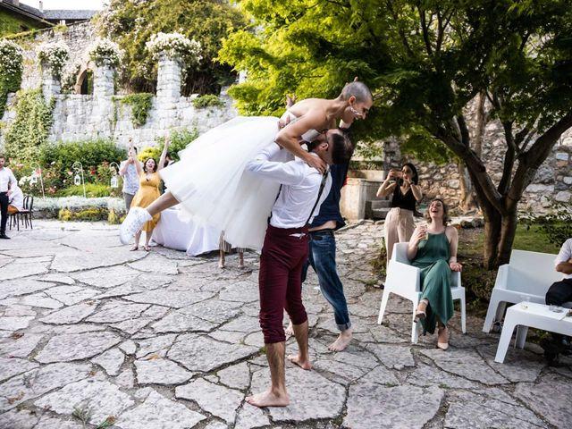 Il matrimonio di Riccardo e Francesca a Strigno, Trento 127