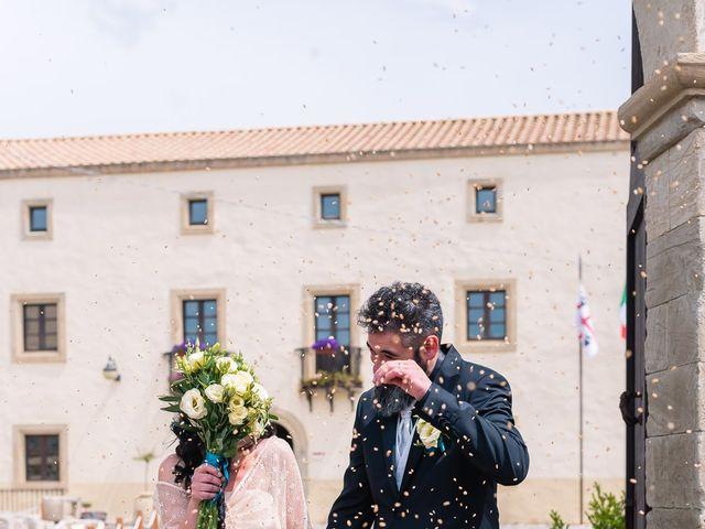 Il matrimonio di Valerio e Susanna a Masullas, Oristano 14