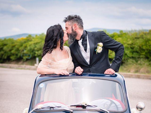 Il matrimonio di Valerio e Susanna a Masullas, Oristano 18