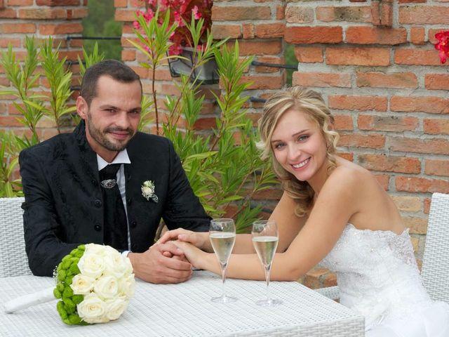 le nozze di Deborah e Matteo