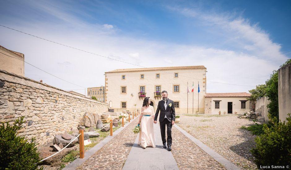 Il matrimonio di Valerio e Susanna a Masullas, Oristano