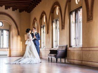 Le nozze di Aurora e Daniele