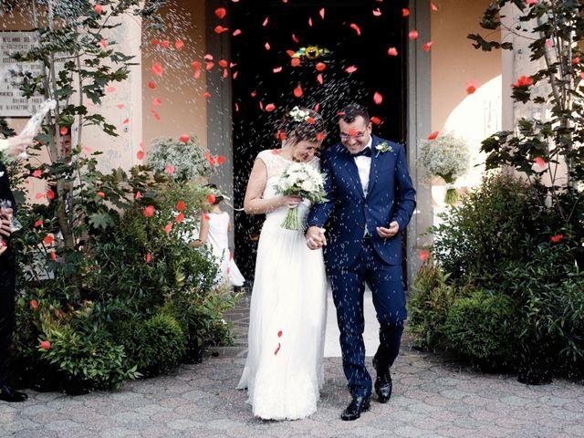 Il matrimonio di Alan e Ilaria a Malgesso, Varese 31