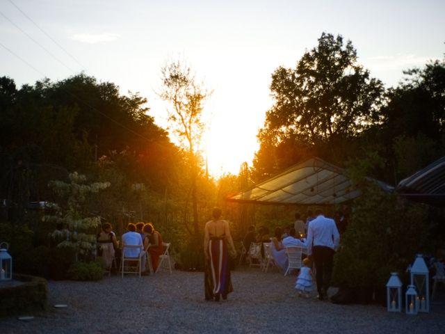 Il matrimonio di Alan e Ilaria a Malgesso, Varese 44