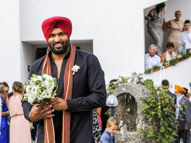 Il matrimonio di Paramjeet e Valentina a Filago, Bergamo 4