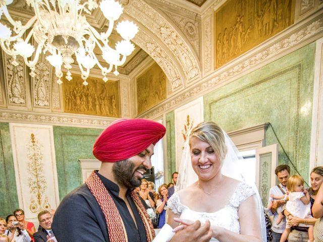 Il matrimonio di Paramjeet e Valentina a Filago, Bergamo 7