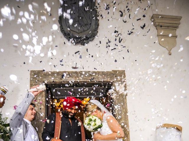 Il matrimonio di Paramjeet e Valentina a Filago, Bergamo 8