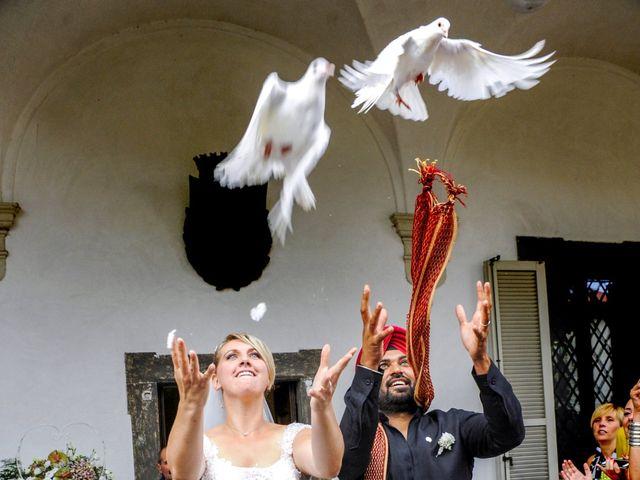 Il matrimonio di Paramjeet e Valentina a Filago, Bergamo 9