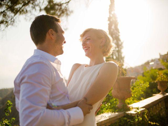 Il matrimonio di Jess e Steve a Taormina, Messina 8