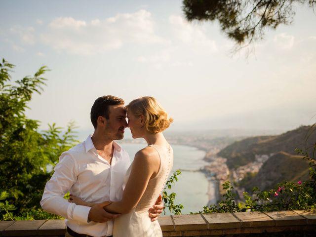 Il matrimonio di Jess e Steve a Taormina, Messina 9