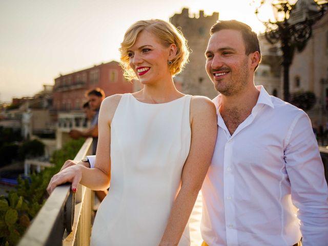Il matrimonio di Jess e Steve a Taormina, Messina 13