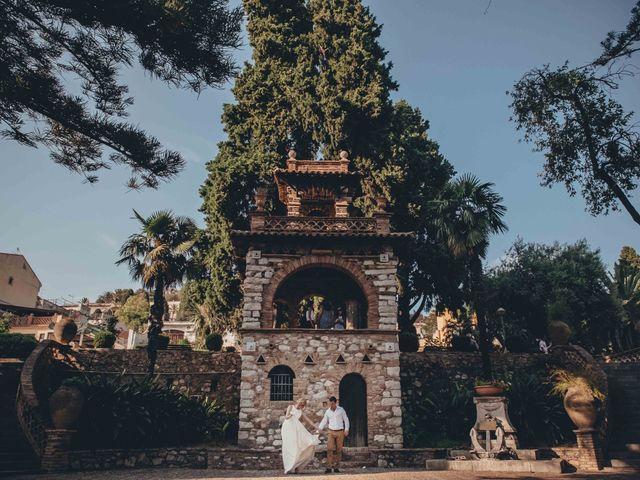 Il matrimonio di Jess e Steve a Taormina, Messina 14