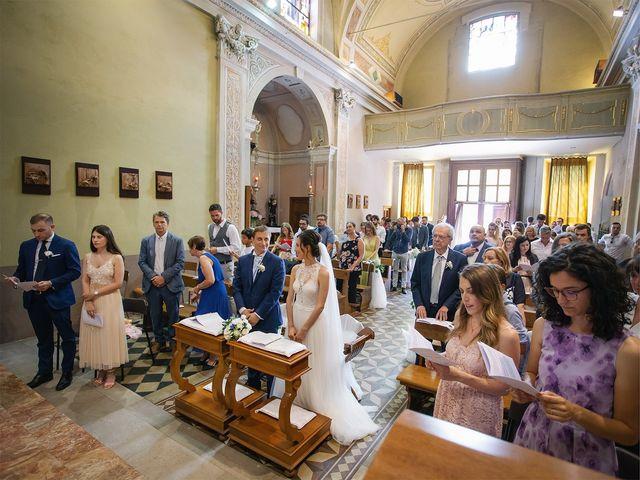 Il matrimonio di Giordano e Erika a Robecco sul Naviglio, Milano 19