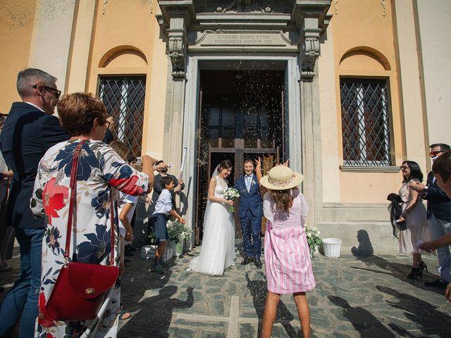 Il matrimonio di Giordano e Erika a Robecco sul Naviglio, Milano 22