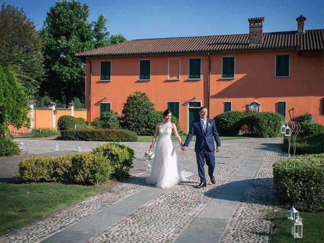 Il matrimonio di Giordano e Erika a Robecco sul Naviglio, Milano 32