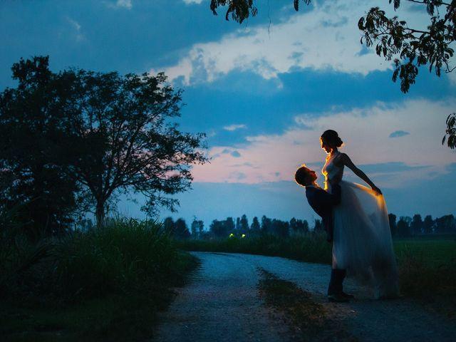 Le nozze di Erika e Giordano