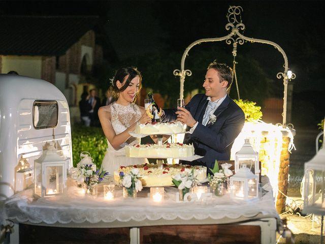 Il matrimonio di Giordano e Erika a Robecco sul Naviglio, Milano 44