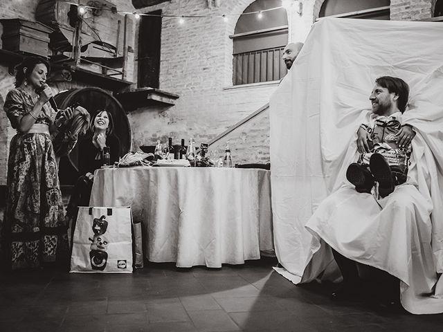 Il matrimonio di Mario e Lisa a Brisighella, Ravenna 85