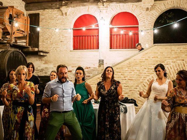 Il matrimonio di Mario e Lisa a Brisighella, Ravenna 91