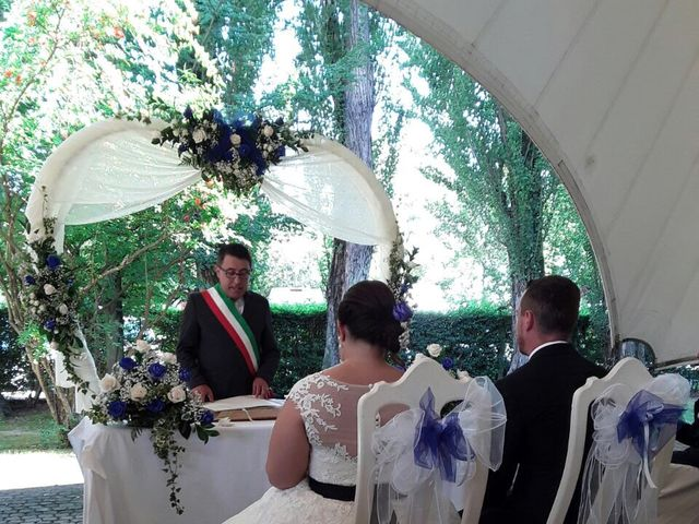 Il matrimonio di Gennaro Lucio  e Monica a Cervesina, Pavia 1
