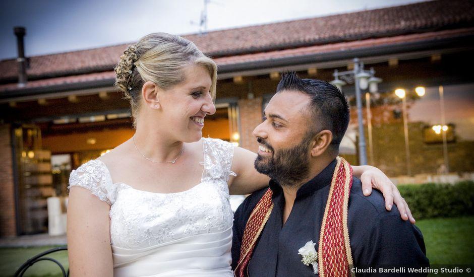 Il matrimonio di Paramjeet e Valentina a Filago, Bergamo